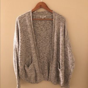 Madewell Cable Knit Cardigan